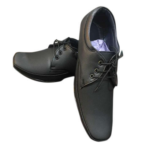 Mens Lace Up Black Formal Shoes, Mens