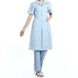 Pure Cotton Hospital Uniform, Size: Small