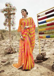 Digital Cotton Saree