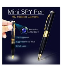 16 GB 5MTR Spy Pen Camera, For Security, 1080