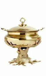 Designer Brass chafing dish