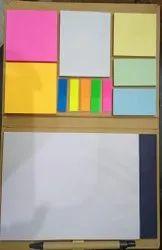Hard Bound Cardboard Eco Friendly Sticky Notes