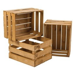 Hard Wood Shipping Crates