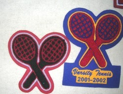 Tennis Activity Patches