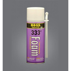 Boss 333 PU Foam Spray Sealant