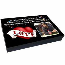 Love Printed Custom Chocolate Gifts, Packaging Type: Box