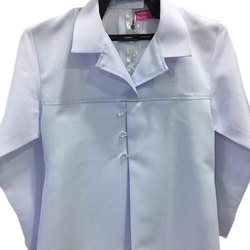 Plain White Nurse Coat