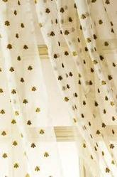 Honey Bees Curtain
