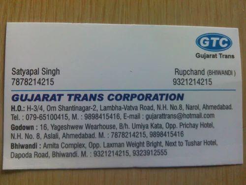 Gujrat To Jaipur Transport Service in Narol, Ahmedabad, Gujarat