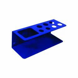 OBASIX Whiteboard Marker & Duster Holder- Blue