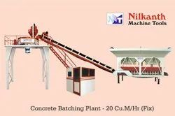 On Site Concrete Batching Plant