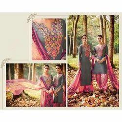 Casual Wear Multicolor Ladies Suit