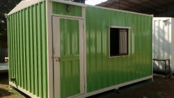 Galvanised portable Site Office Cabin