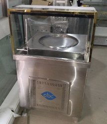 SS Ice Cream Roll Machine