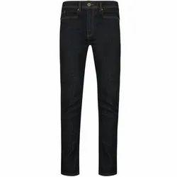 Regular Fit Casual Wear Mens Denim Trouser, Packaging Type: Packet