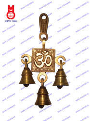 Belt with Bell Om Design Hanging