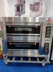Two Deck Gas Oven With Touch Panel