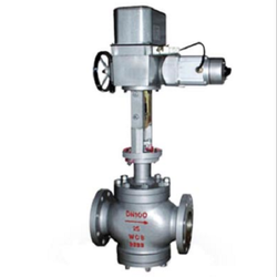 Electric Double Seat Control Valve