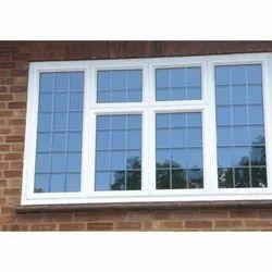 Sliding White Aluminum & UPVC Window, Door