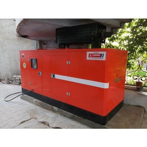 35 Kva Eicher Silent Diesel Generator Set