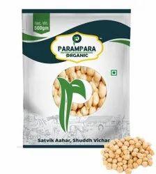 Parampara Organic Garbanzo Beans (Kabuli Chana), Packaging Size: 500 G