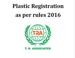 Plastic Registration As Per Rules 2016