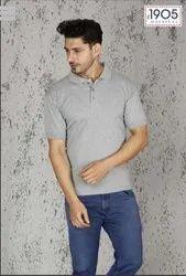 Mafatlal Basic T-shirt (LIGHT GREY)
