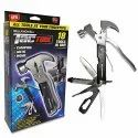18 in 1 Stainless Steel Multifunction Hand Tac Tool For Home Use 1pc(Black Color)
