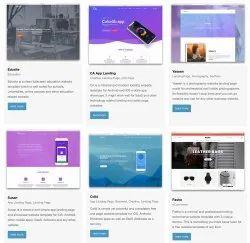 10-20 Days English HTML Website Designs