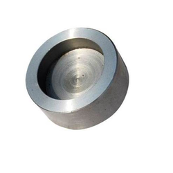 Pragati Stainless Steel Socket Weld Cap, for Chemical Fertilizer Pipe