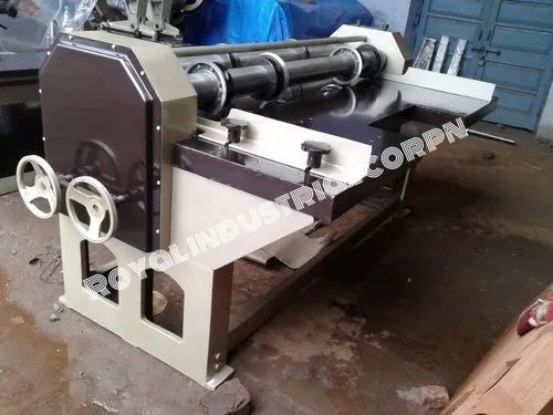 Electric Four Bar Rotary Cutting And Creasing Machine, 2 - 3 Hp