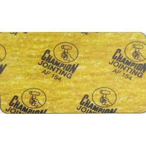 Champion Non Asbestos Jointing Sheet-AF 154, Thickness: 0.5 - 5 mm