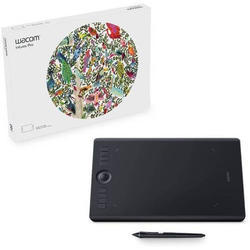 Wacom Intuos Pro Medium Pth660/Ko-Cx 13.3 X 8.6 Inch Graphics Tablet  (Black)