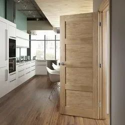 Wood Hinged Panel And Decorative Door, Wooden