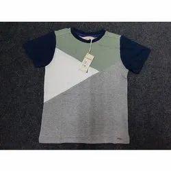 Round Half Sleeve Men Stylish Cotton T Shirt