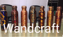 Wandcraft Exports Seamless Digital Print Sublimation Print China print Copper Water Bottle