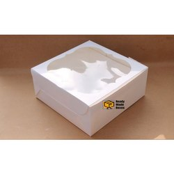 10 Inches White Window Box