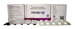 Tranexamic Acid And Mefenamic Acid Tablets - Phymef-Mf, Prescription, Packaging Type: Box