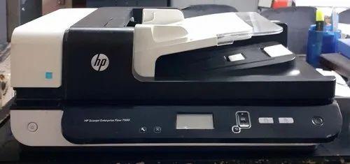 Flatbed Scanners Hp Scan Jet Enterprise Flow 7500 Flatbed Scanner Wholesaler From New Delhi