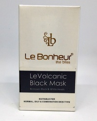 Le Bonheur Volcanic Black Mask 6 application