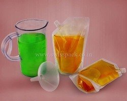 Cooking Oil packaging Spout Pouches
