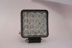 16 LED Square Power Fog Light