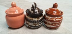 Mix color Stoneware Kitchenware, For Colorful Barni, Aachar Use