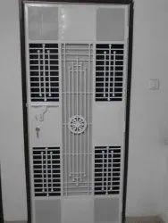 Metal Single Door safty doors, For Home, Size: 3*7
