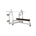 Peak Fitness Olympic Flat Bench With Support