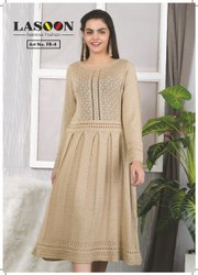 7011 Ladies Woolen Dress