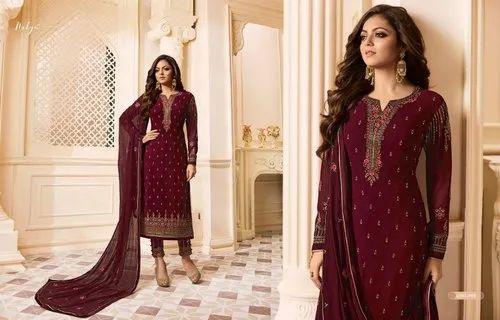 Indian Designer Party Wear Pakistani Bollywood Suit Salwar Kameez plazzo