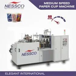 NESSCO Medium Speed Paper Cup Machine