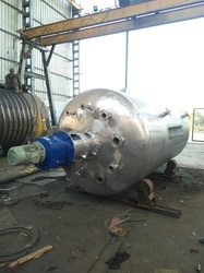 High Pressure Stainless Steel Vessel