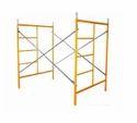 Yellow Scaffolding Frame